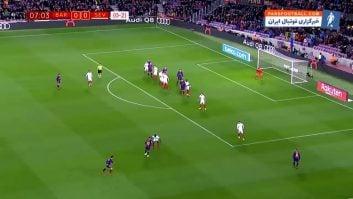 مسی ؛ عملکرد لیونل مسی ستاره بارسلونا در دیدار برابر سویا در جام حذفی