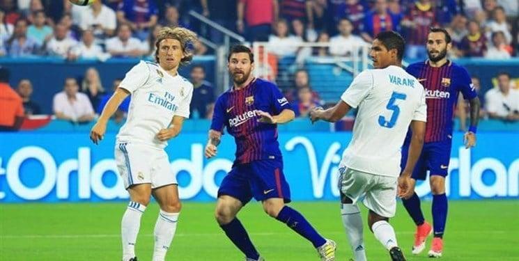 برتری بارسلونا در چالش ده ساله در الکلاسیکو برابر رئال مادرید