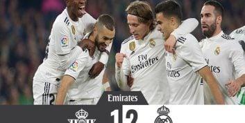 رئال مادرید ؛ حضور ستاره های جوان باشگاه رئال مادرید در دیدار برابر بتیس