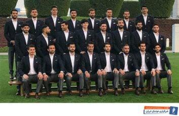 پشت صحنه های جالب از رونمایی لباس رسمی تیم ملی پیش از غزیمت به امارات