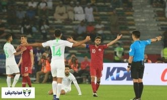 خلاصه بازی قطر - عربستان