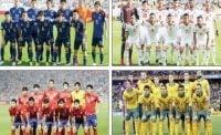 مروری بر مسیر چهار تیم مدعی فتح جام ملت های آسیا 2019 تا یک چهارم نهایی