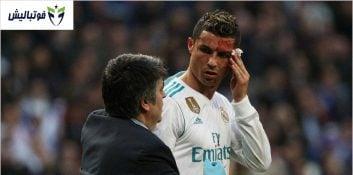 خطاهای خشن بازیکنان برای متوقف کردن رونالدو