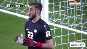 خلاصه بازی فلسطین 0-0 اردن جام ملت های آسیا