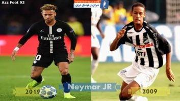 فوتبال ؛ چالش تغییرات ستاره های مطرح فوتبال جهان در یک دهه اخیر