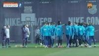 بواتنگ ؛ اولین روز تمرین کوین پرنس بواتنگ خرید جدید باشگاه بارسلونا