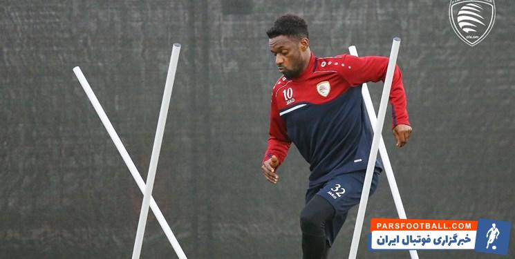 محسن جوهر بازیکن کلیدی تیم ملی عمان به دیدار برابر ایران می رسد