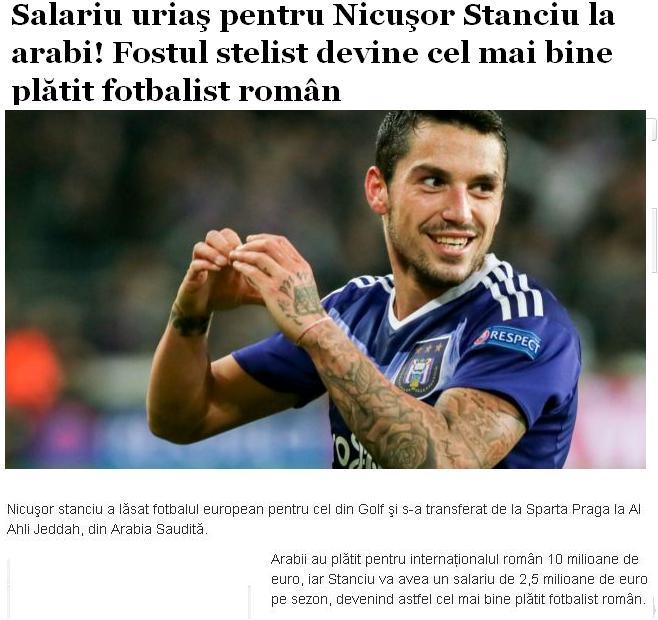 نیکولای استنسیو هافبک بازیساز رومانیایی است تیم فوتبال الاهلی عربستان حربف پرسپولیس در آسیا با نیکولای استنسیو هافبک بازیساز رومانیایی به توافق رسیده است.