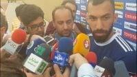 مصاحبه با روزبه چشمی پیش از دیدار ایران و عراق
