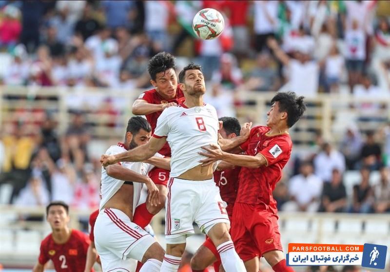 ایران و ویتنام - تیم ملی - جام ملت های آسیا