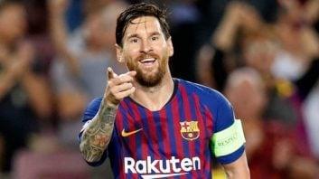 مسی ؛ عملکرد لیونل مسی ستاره بارسلونا در دیدار برابر ختافه در مسابقات لالیگا