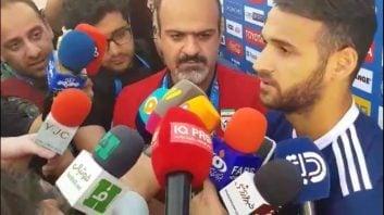 مصاحبه با احمد نوراللهی پیش از دیدار ایران و عراق در جام ملت های آسیا