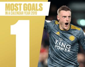 اولین گل سال 2019 در لیگهای معتبر توسط جیمی واردی
