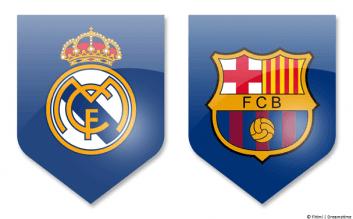 تیم بارسلونا و رئال مادرید