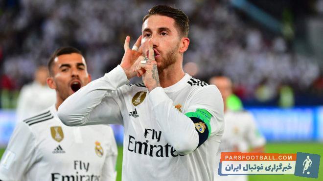 ششصدمین بازی راموس برای رئال مادرید برابر آژاکس