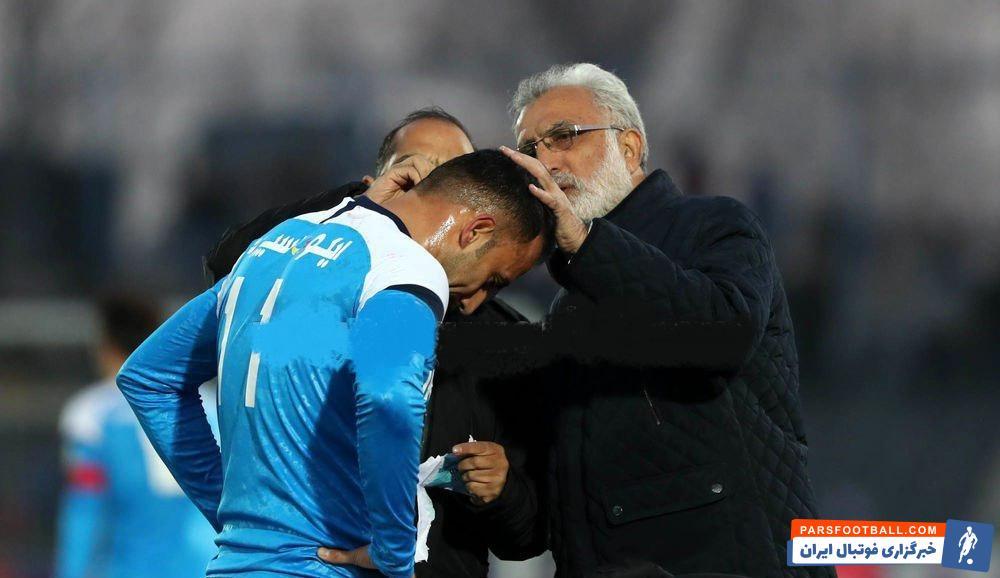 حسین فرکی سرمربی پیکان یکی از خوش اخلاق ترین مربیان فوتبال ایران هم به شمار می آید حسین فرکی در این زمان امیدی به بهبود بازی نداشت.