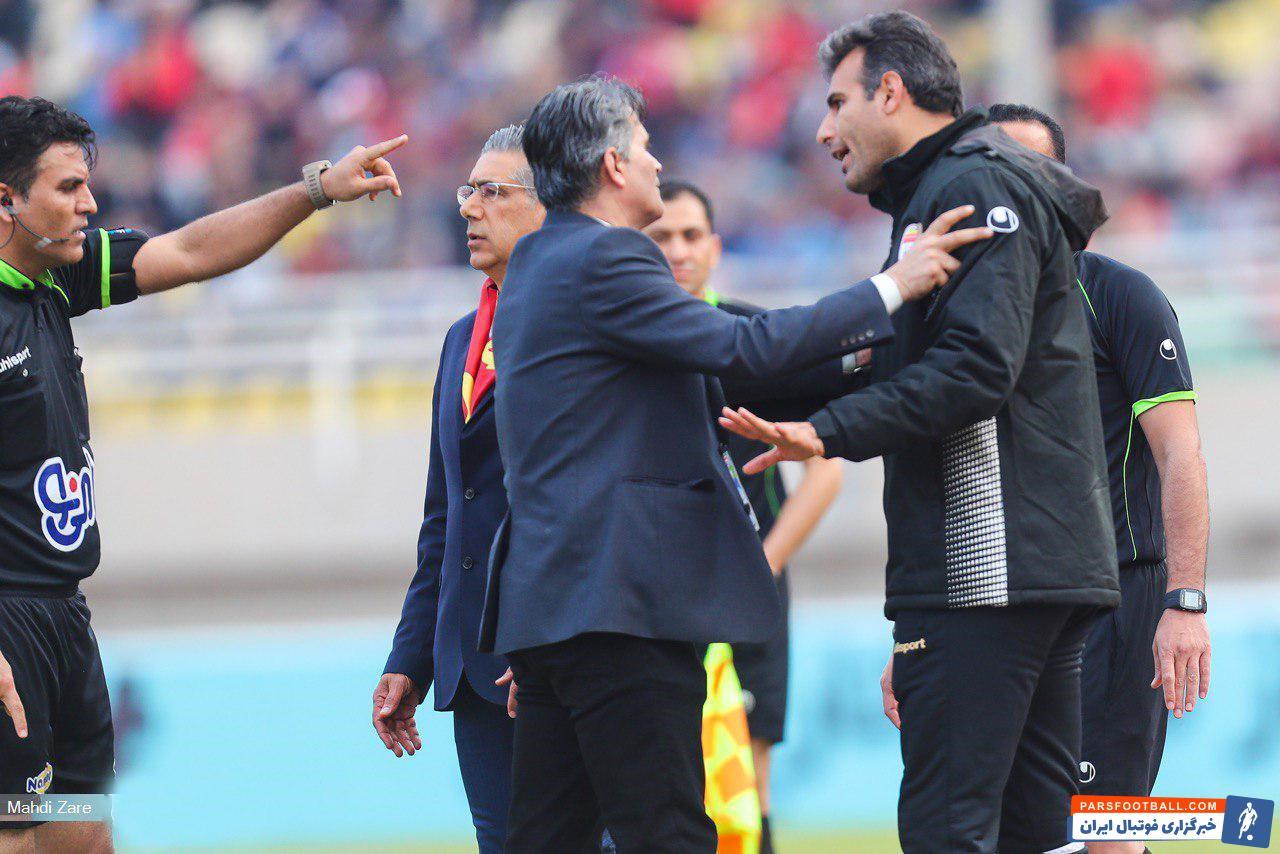 در بازی دیروز فولاد و پرسپولیس، هم بیرانوند کارت گرفت، هم ابراهیم میرزاپور گلری که سال ها قبل شاگرد ایوانکوویچ در تیم ملی بود، جریمه شد.