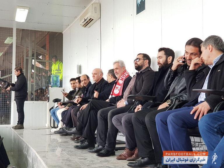 پورمحمدی ؛ تصاویری از محمدرضا پورمحمدی استاندار تبریز در ورزشگاه یادگار امام