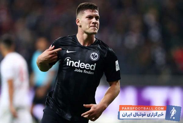 رئال مادرید و بارسلونا در تلاش برای جذب لوکا یوویچ ستاره تیم آینتراخت می باشند