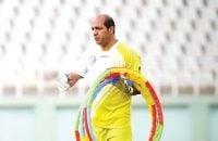 حسین ترابپور : حسینی باید قدر این روزها را بداند که کنار مهدی رحمتی کار و تمرین میکند