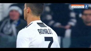 عملکرد رونالدو در دیدار برابر فروزینونه رقابت های سری آ ایتالیا