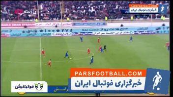 خلاصه بازی تراکتورسازی 1-0 استقلال لیگ برتر خلیج فارس