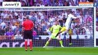 گل ها و مهارت های رونالدو در رئال مادرید برابر اتلتیکومادرید