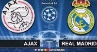 شبیه سازی دیدار تیم های آژاکس و رئال مادرید در لیگ قهرمانان اروپا با لگو