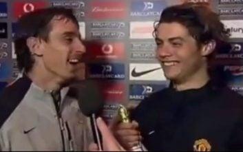 مصاحبه های به یادماندنی ستارگان فوتبال در نوجوانی