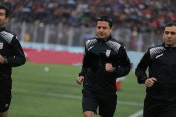 علیرضا فغانی داور وسط دیدار پرسپولیس و نساجی مازندران است فغانی این فصل تنها یک بازی برای پرسپولیس قضاوت کرده که آن هم با نتیجه تساوی همراه بود.