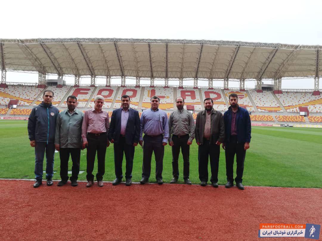 ورزشگاه فولاد آره نا ، پس از ماه ها آماده بهره برداری شده مدیران باشگاه و شرکت فولاد خوزستان از ورزشگاه مدرن این باشگاه در آستانه افتتاح بازدید کردند.