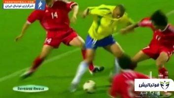 برترین گل ها و مهارت های رونالدو نازاریو در تیم فوتبال برزیل
