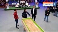 شهرآورد ؛ رقابت سبقت آزاد طارق همام و بشار رسن در مسابقه شوتبال