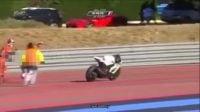 موتورسیکلت بازیگوشی که بدون راکب جرکت می کند!