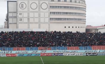 پرسپولیس - نساجی - ورزشگاه شهید وطنی