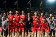 شکست تیم ملی فوتبال ساحلی برابر ژاپن یک چهارم نهایی قهرمانی آسیا