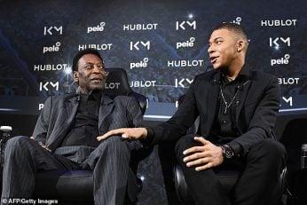 پله اسطوره 78 ساله فوتبال جهان و کیلیان امباپه جوان، در هتلی در پاریس با یکدیگر ملاقات کردن پله در ماه های اخیر چند بار به تمجید از عملکرد امباپه پرداخت.