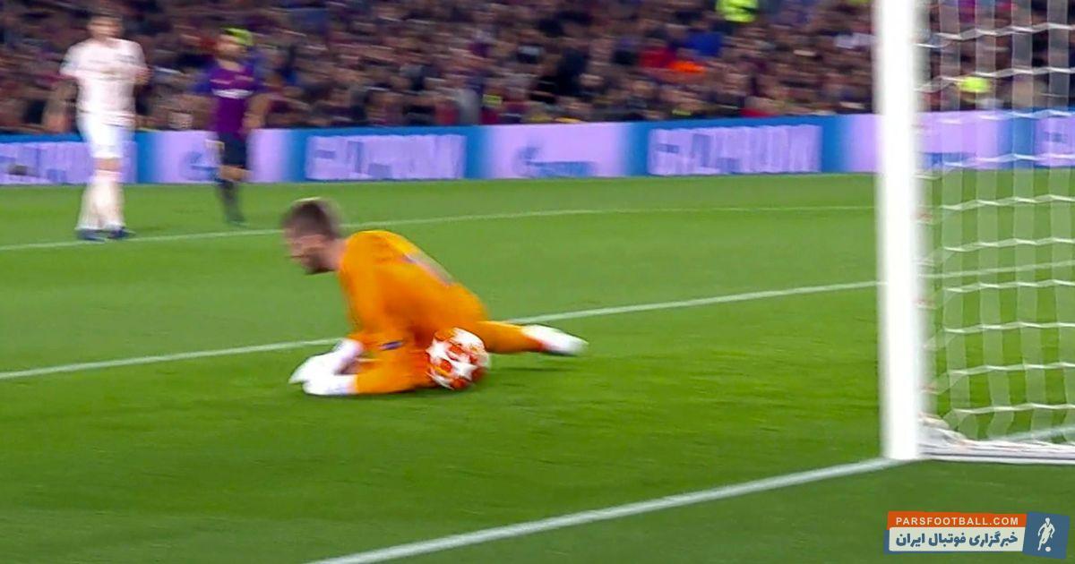 داوید دخیا روی گل دوم بارسلونا اجازه داد شوت ساده لیونل مسی به راحتی از زیر بدنش عبور کرده و وارد دروازه شود تا هدف شدیدترین انتقادها قرار گیرد.