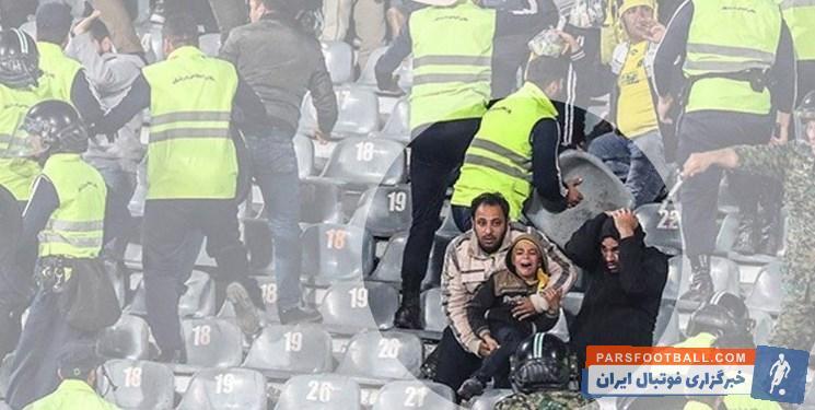 افشین داوری : برخی افراد شرور و سابقه دار برای آشوب گری به استادیوم ها وارد شده اند