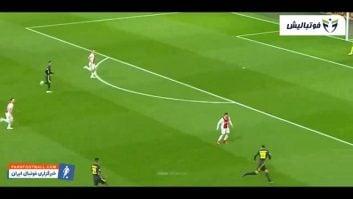 عملکرد رونالدو در دیدار یوونتوس برابر آژاکس در لیگ قهرمانان اروپا