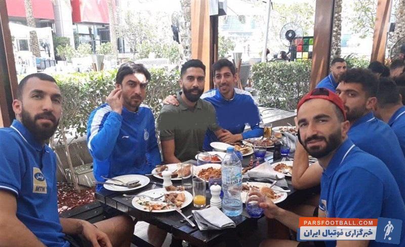 فرشید باقری با تنبیه انضباطی توسط باشگاه از این تیم کنار گذاشته شده بود فرشید باقری پس از تعلیق محرومیت انضباطیاش به اردوی این تیم در ابوظبی اضافه شد.