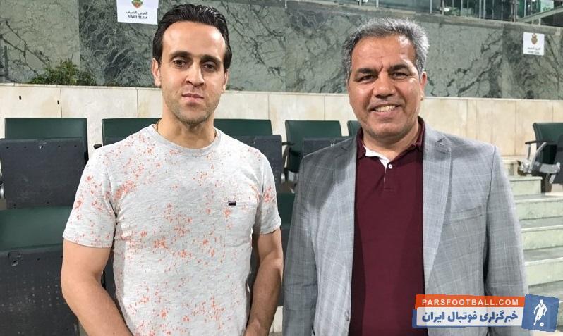 علی کریمی همراه پرسپولیسی ها برای تشویق تیم به دبی رفته است. علی کریمی همانند شنبه در تمرین پرسپولیس در دبی حاضر شد.
