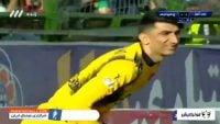 خلاصه بازی ذوب آهن 0-0 پرسپولیس لیگ برتر خلیج فارس