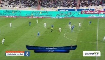 خلاصه بازی استقلال 1-0 ماشین سازی لیگ برتر خلیج فارس