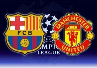 بارسلونا ؛ تمرین بازیکنان بارسلونا قبل از دیدار حساس برابر منچستریونایتد