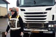 گیتی موسوی ، بانوی تبریزی رکورد قوی ترین زن جهان را شکست!