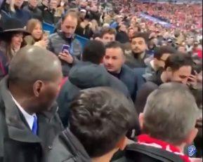درگیری فیزیکی نیمار و یک هوادار در جام حذفی فرانسه