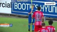 فوتبال ؛ شوخی ها و حرکات زشت ستاره های مطرح با یکدیگر در جریان بازی