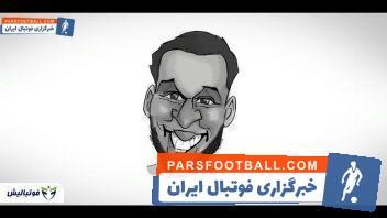 فوتبال ؛ چالش حدس زدن نام ستاره های مطرح فوتبال جهان از روی نقاشی چهره شان