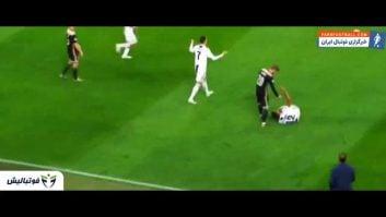 رونالدو ؛ عملکرد رونالدو در دیدار یوونتوس برابر آژاکس در رقابت های لیگ قهرمانان اروپا